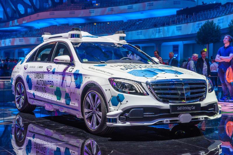 Driverless S-class taxis
