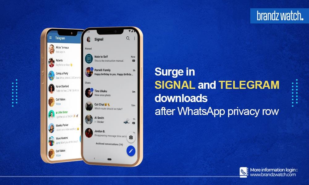 Signal Telegram