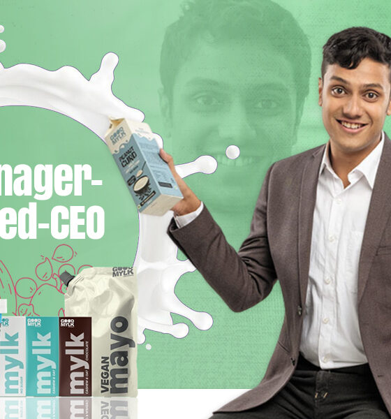 Goodmylk   Here's how teenager-turned-CEO is outrunning regular dairy industry